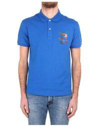 Trussardi 201a B046 Polo Shirt - Blauw