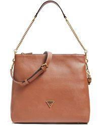 Guess Destiny Strap Shoulder Bag - Bruin