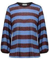 Ottod'Ame T-shirt - Bleu
