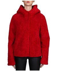 Betta Corradi Coat - Rojo