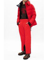 Moncler Ski trousers Rojo