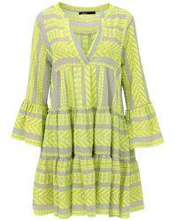 Devotion Short Dress Ella - Geel