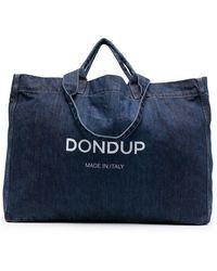 Dondup Large Tote - Blauw