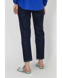 Current/Elliott Jeans The Vintage Cropped Slim Clean Azul