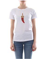 Liu Jo Ca0199 T5884 T Shirt - Wit