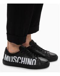 Moschino Zapatillas con logo Negro