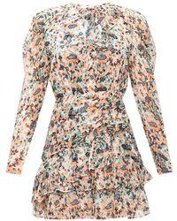 Ulla Johnson Cecily silk dress - Neutre