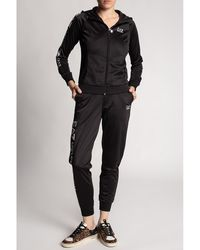 EA7 Sweatshirt & sweatpants set Negro