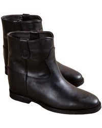 Via Roma 15 Ankle Boots - Zwart