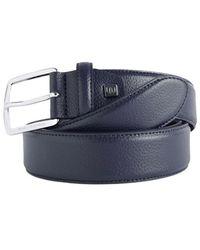 Piquadro Cinturón de piel cu 5261c73 - Azul