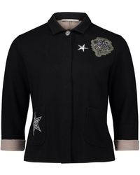 Betty Barclay 50010536 - Vest Zwart Met Applicaties Zilver Beige