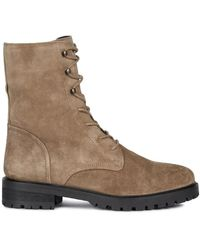 Geox D Hoara E Ankle Boots - Bruin