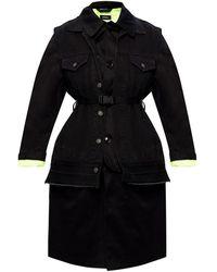 DIESEL Coat Negro