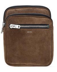Amiri Belt bag with clips - Marrone