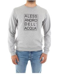 Alessandro Dell'acqua Ad0288/M0140 Crewneck Sweatshirt - Gris
