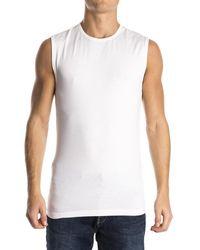 Alan Red Orlando Shirt White (2p) - Wit