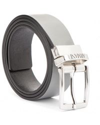 Armani Reversible Belt - Grau