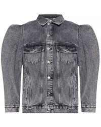 IRO Oversize Denim Jacket - Grijs