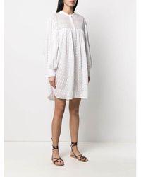 Étoile Isabel Marant - Tilalia Dress Blanco - Lyst