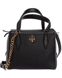 Tory Burch Leather Handbag Kira - Zwart
