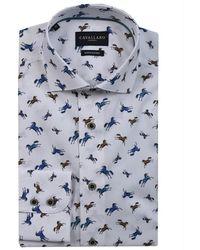 Cavallaro Davally Overhemd - Wit