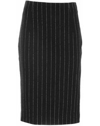 Moschino City Skyline Skirt - Zwart