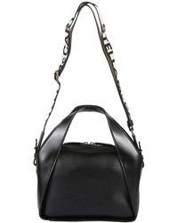 Stella McCartney Mini Stella Logo Crossbody Bag - Zwart