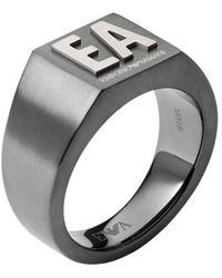 Emporio Armani Ring - Gris