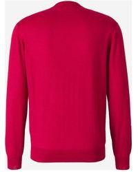 Santa Eulalia Cashmere and Silk Sweater Rojo