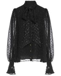 Balmain Shirt - Zwart