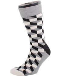 Happy Socks Heren Fo01-901 - Zwart