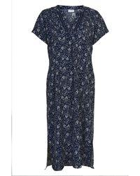 iN FRONT Emely Dress 14380 - Bleu
