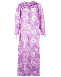 Antik Batik Jurk - Roze
