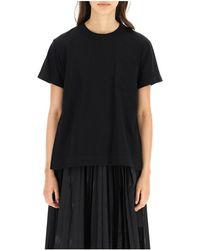 Sacai T-shirt - Negro