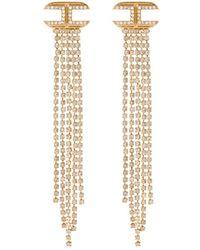 Elisabetta Franchi Earrings - Gelb