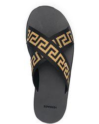 Versace Sandals Negro