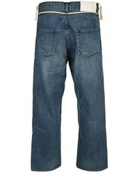 Ambush Jeans Bmya011S21Den001 Azul