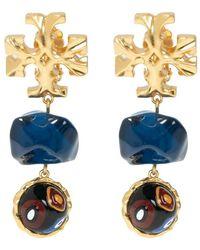 Tory Burch Roxanne Earrings - Geel
