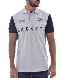 Hackett Polo Stretch Collaboration Aston Martin - Grijs