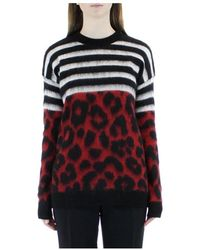 N°21 Jesey Mohair Point - Rood
