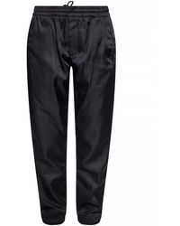 Givenchy Trousers With G Monogram - Zwart