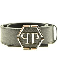 Philipp Plein Belt - Grijs