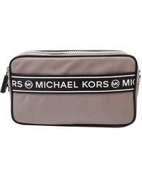 Michael Kors Kenly Small Camera Crossbody - Grijs