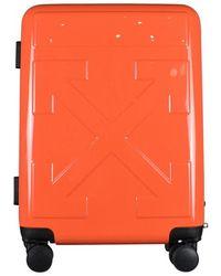 Off-White c/o Virgil Abloh Suitcase - Oranje