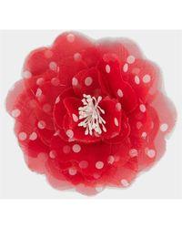 Philosophy Di Lorenzo Serafini Spilla Bijoux Maxi Flower - Rood