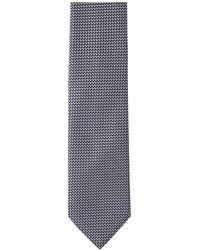 Brioni Silk Tie - Gris