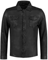 Goosecraft Jas Shirt076 - Schwarz