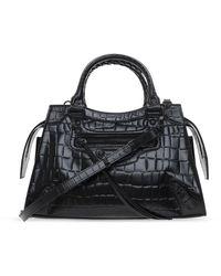 Balenciaga Neo Classic Shoulder Bag - Zwart