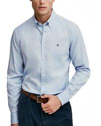 Hackett Shirt - Blu