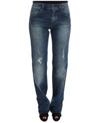 Ermanno Scervino Slim Fit Jeans - Bleu
